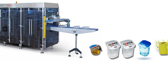 Form fill and seal packaging machines